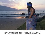 african woman in traditional... | Shutterstock . vector #482666242