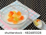 Jelly Pudding Fruit Salad In...