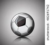 soccer ball | Shutterstock .eps vector #482691742