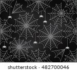vector set of chalkboard style... | Shutterstock .eps vector #482700046
