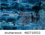 Oil Painting Abstract Texture....