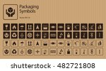 Vector Packaging Symbols Set O...
