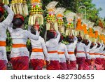 procession of beautiful... | Shutterstock . vector #482730655