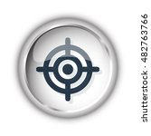 web button with black target... | Shutterstock .eps vector #482763766