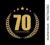 template logo 70 years...