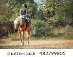 Little Boy On The Horse.