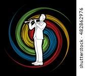 Clarinet Player Designed On...