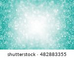 Abstract Teal Green Or...