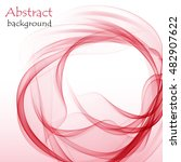 abstract background with red