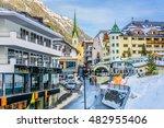 View At Famous European Ski...