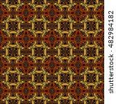 abstract geometric seamless... | Shutterstock . vector #482984182