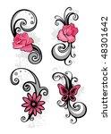 design elements   Shutterstock .eps vector #48301642