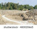 sunny illuminated stone pit... | Shutterstock . vector #483020665