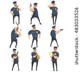 American Policeman Funny...