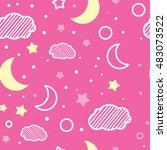 seamless pattern. children's...   Shutterstock .eps vector #483073522