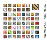 set of tilesets for video game | Shutterstock .eps vector #483078886