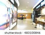 shopping mall  department store ... | Shutterstock . vector #483100846