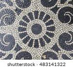 mosaic floor  detail of a... | Shutterstock . vector #483141322