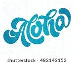 hand lettering vector... | Shutterstock .eps vector #483143152