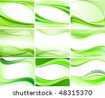 set of abstract backgrounds... | Shutterstock .eps vector #48315370