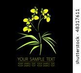 floral background | Shutterstock .eps vector #48317611