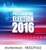 2016 usa presidential election... | Shutterstock .eps vector #483229162