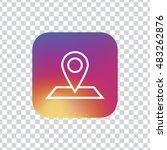 map marker icon vector  clip...