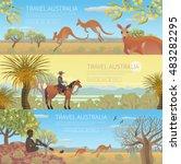 Set Of Australian Travel...