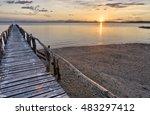 Gulf Of Nicoya Sunset  Costa...