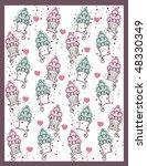 sweet  cupcakes design | Shutterstock .eps vector #48330349