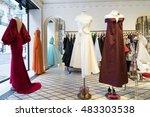 paris  france   july 4  2016 ... | Shutterstock . vector #483303538