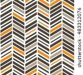 vector seamless pattern. modern ... | Shutterstock .eps vector #483312076