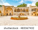 Small photo of BEIT ED-DINE, LEBANON - August 17: Beit ed-Dine Palace in Beit ed-Dine, Lebanon on August 17, 2016. It is located about 45 km southeast of Beirut.