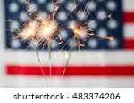 american independence day ...   Shutterstock . vector #483374206