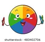 Mascot Illustration Of A Color...
