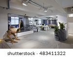 fashion and modern office... | Shutterstock . vector #483411322