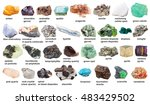 Set From Various Raw Gemstones...