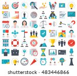 Business icons | Shutterstock vector #483446866