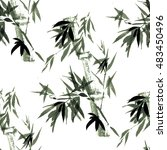 floral seamless pattern. the... | Shutterstock . vector #483450496