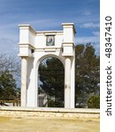 Gate Of The Ancient Cemetery O...