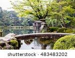 Kenrokuen Beautiful Garden In...