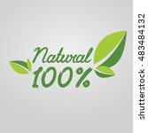 all natural    Shutterstock .eps vector #483484132