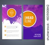 brochure template layout  cover ... | Shutterstock .eps vector #483500842