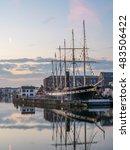 bristol waterfront  england  uk ... | Shutterstock . vector #483506422