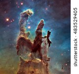 The Eagle Nebulaas Pillars Of...