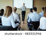 business seminar   Shutterstock . vector #483531946