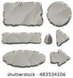 Vector Stone Design Elements...