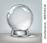 vector realistic transparent... | Shutterstock .eps vector #483534118