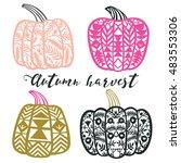 Autumn Harvest. Print Design