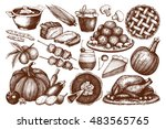 vector collection of  menu... | Shutterstock .eps vector #483565765
